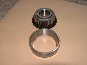 97-4031, Bearing, head race, taper, BSA & Triumph oil in frame, Imported